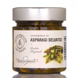 Asparagi selvatici sott'olio - Nuova Agricola San Paolo