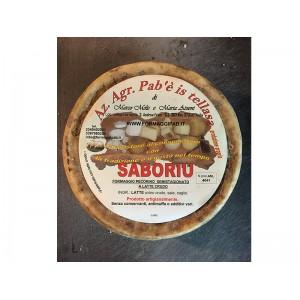 Sardinian raw pecorino cheese Saboriu - Pab'e Is Tellasa