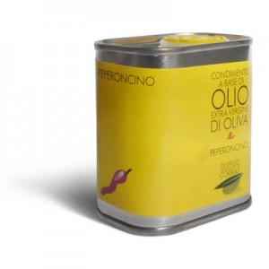 Olio extra vergine di oliva e peperoncino - Oleificio Corrias