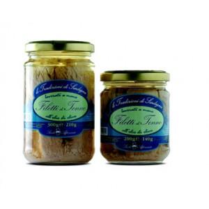 Filetti di tonno sott'olio - Sarda Affumicati