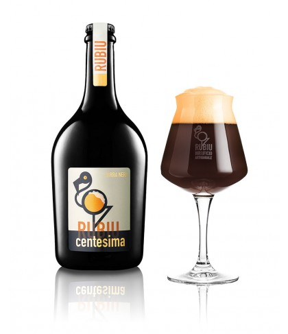 Centesima, birra artigianale American Porter - Birrificio Rubiu