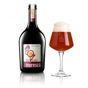 Moresca, birra artigianale Belgian dark ale - Birrificio Rubiu