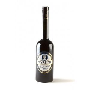 Liquorice liqueur made in Sardinia - Myrsine Liquori