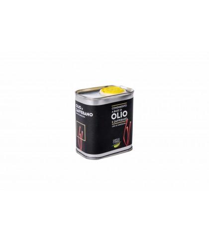 Olio extra vergine di oliva, aromatizzato allo zafferano  - Oleificio Corrias