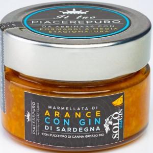 Marmellata di arance con Gin sardo - Piacere Puro