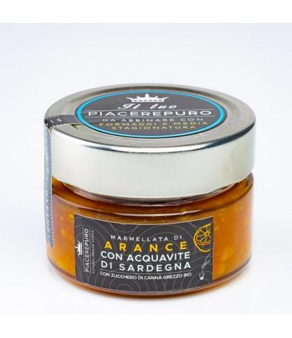 Orange marmalade with myrtle of Sardinia - Piacere Puro