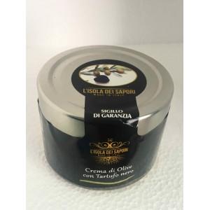Crema di olive con tartufo nero estivo - L'isola dei Sapori