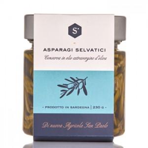 Wild asparagus in oil - Nuova Agricola San Paolo
