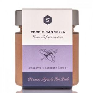 Sardinian peach jam, with stevia - Nuova Agricola San Paolo