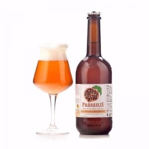 Bresca, Honey-colored amber beer - Terrantiga Brewery