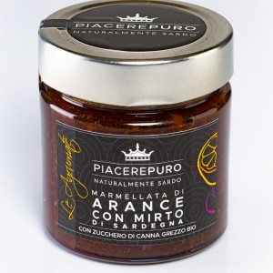Orange marmalade with Gin of Sardinia - Piacere Puro