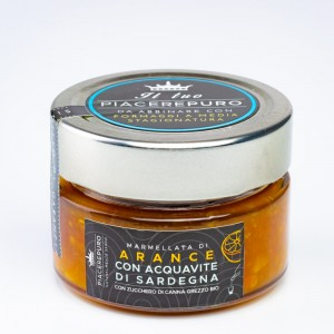 Orange marmalade with myrtle of Sardinia - Piacere Puro