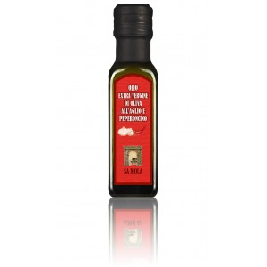 Olive oil with garlic and chili pepper - Sa Mola