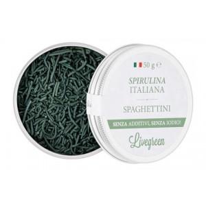 Wholemeal Rice Fusilli and Spirulina - Livegreen