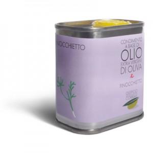 Olio extra vergine di oliva e finocchietto - Oleificio Corrias