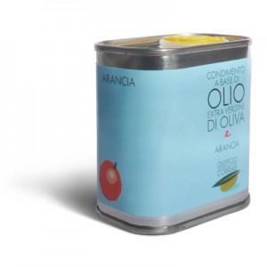 Olio extra vergine di oliva e arancia - Oleificio Corrias