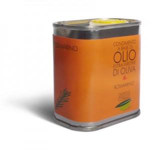 Olio extra vergine di oliva e rosmarino - Oleificio Corrias