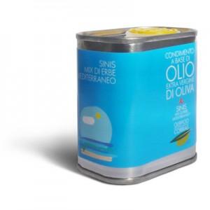 Olio extra vergine di oliva e erbe mediterranee - Oleificio Corrias