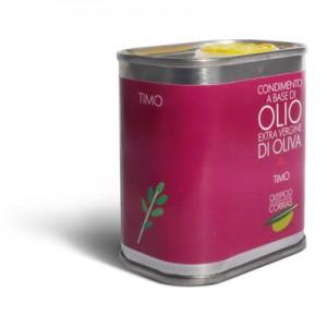 Olio extra vergine di oliva e timo - Oleificio Corrias
