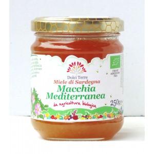 Miele bio di macchia mediterranea - Terrantiga